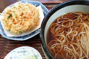 桜海老料理で有名なお店ですが、元をたどればお蕎麦屋さんなんです。