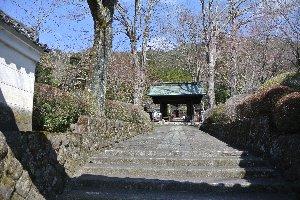 小さな寺なんですが、石庭を見るのは有料。厳重に庭を塀で囲って、単なる強欲坊主の寺ぢゃねぇか!