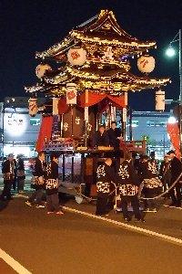 計八基の山鉾が市内を練り歩きます。