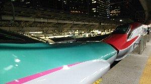 仙台ゆきだったので、まさか「こまち」用車両が充当されると思わなかった。