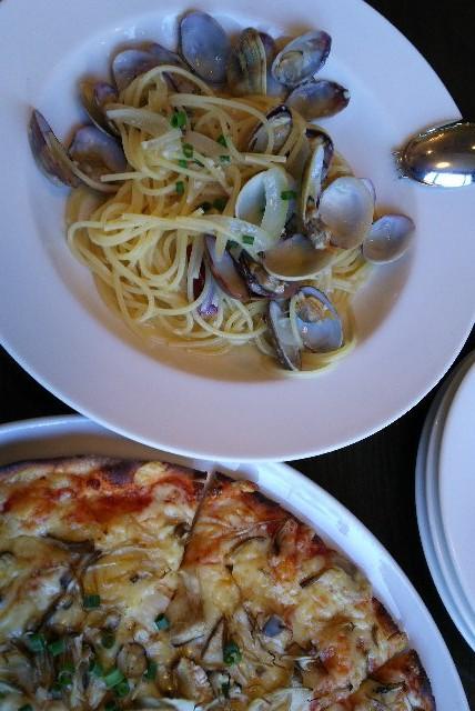 やはり、イタリアンレストランに来たら、自宅で作れないパスタを食べたい。