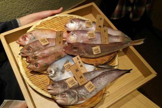 魚のプレゼンがあるお店、好きなのよねぇ