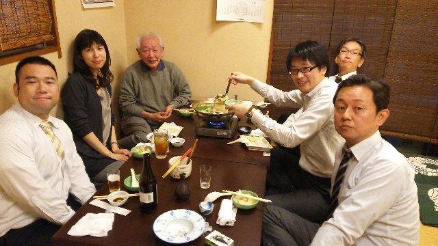 今回は涼子さんが参加してくれたので、華のある宴となりました。