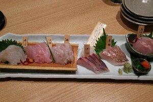島根直送の魚たち、美味しいですよ。
