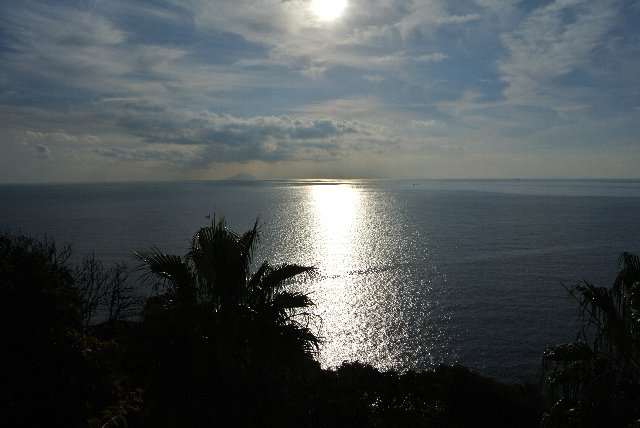 尾ヶ崎ウィングから見る下田の海
