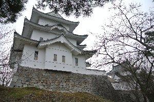藤堂高虎築城の名城ではあるのですが...。