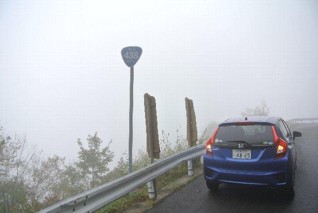 剣山に向けてかなり上った地点、見ノ越まではもう少し