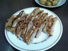 どんこ(椎茸)餃子が美味かったですね。