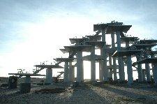 少し変わった形の展望台からは、三浦半島や富士山、ベイブリッジ等が見れます。