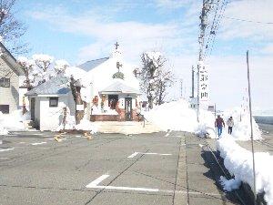 石打駅から歩いて行ける距離にあります。
