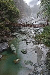 たったこれだけの橋を渡るのに500円も徴収するとは...。