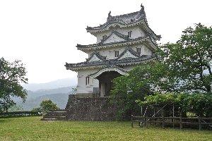 天守が現存する数少ない城の一つです。