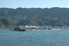 山が海付近までせり出しているのがよくわかる。