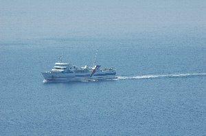 この船を使って九州に渡るのも悪くない。