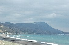 恵山から綺麗に伸びる砂浜の雰囲気が良かったです。