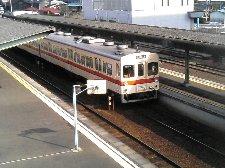水海道駅は、関東では珍しくなったディーゼル車が主役の駅です。