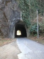 素彫りのトンネルって、むっちゃ味があるやん。