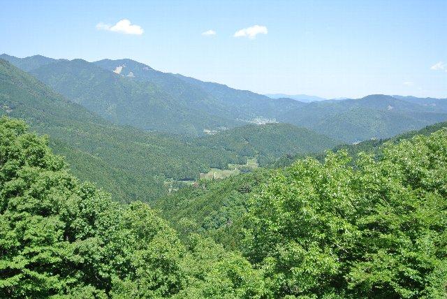 峠を登り切ったとき、眺望が利くのと利かないのでは大違い。