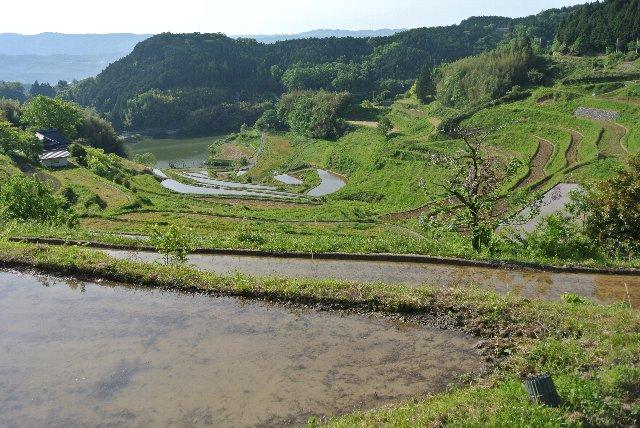 「耕して天に至る」の表現のごとく、地域の最高峰にため池が点在し、棚田が維持され、周辺の山とよく調和して、久米南町の代表的な景観の1つとなっている。