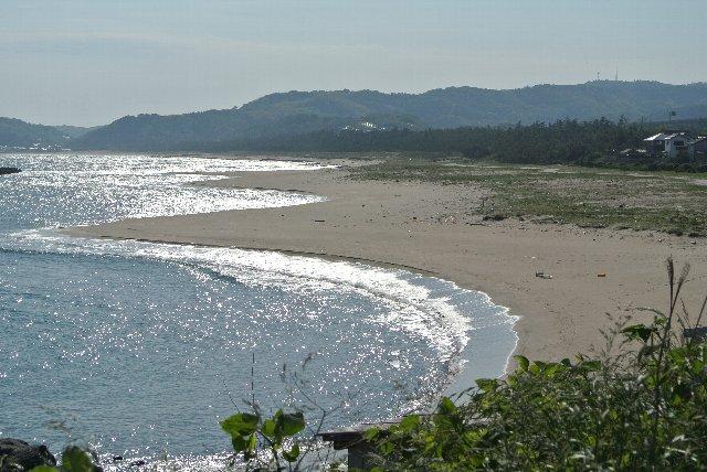 海沿いを走るなら、晴れた日に限ります。
