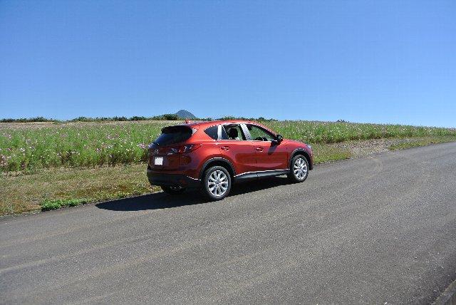 坂道を上るときはディーゼル車が最高です。