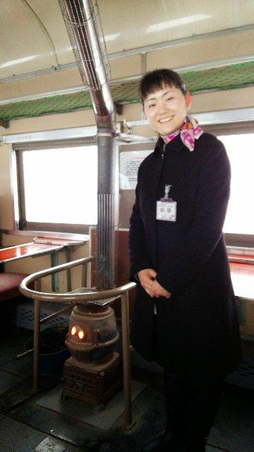 話し相手には事欠かない列車の旅になりました。
